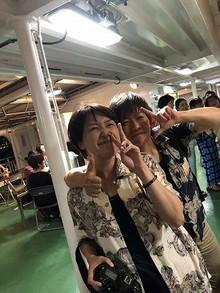 桜島納涼船レポート